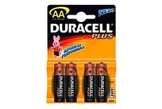 DURACELL BATTERY MN1500 HP7 AA (X4) JX018