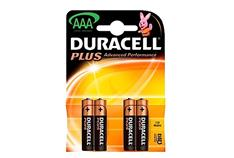 DURACELL BATTERY MN2400 HP16 AAA (X4) JX019