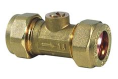 BRASS ISO VALVE 15MM