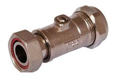 BRASS STR SERVICE VALVE 15MM PP0843 (X1)