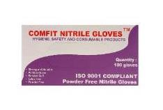 DISPOSABLE GLOVE NITRILE LARGE (100) NG201FL